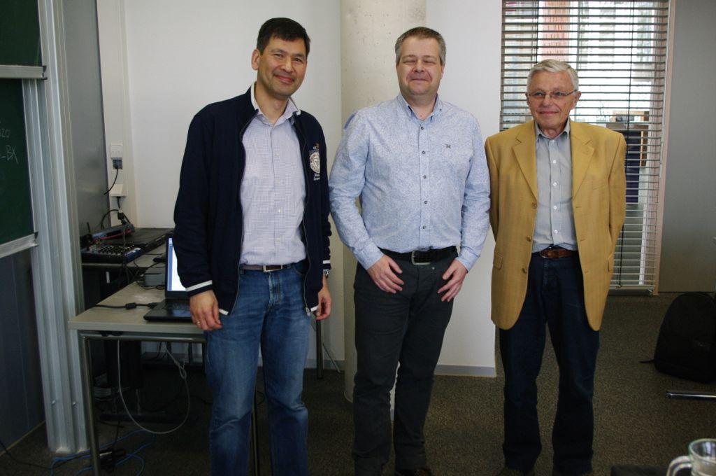 Three generations of FME treasurers